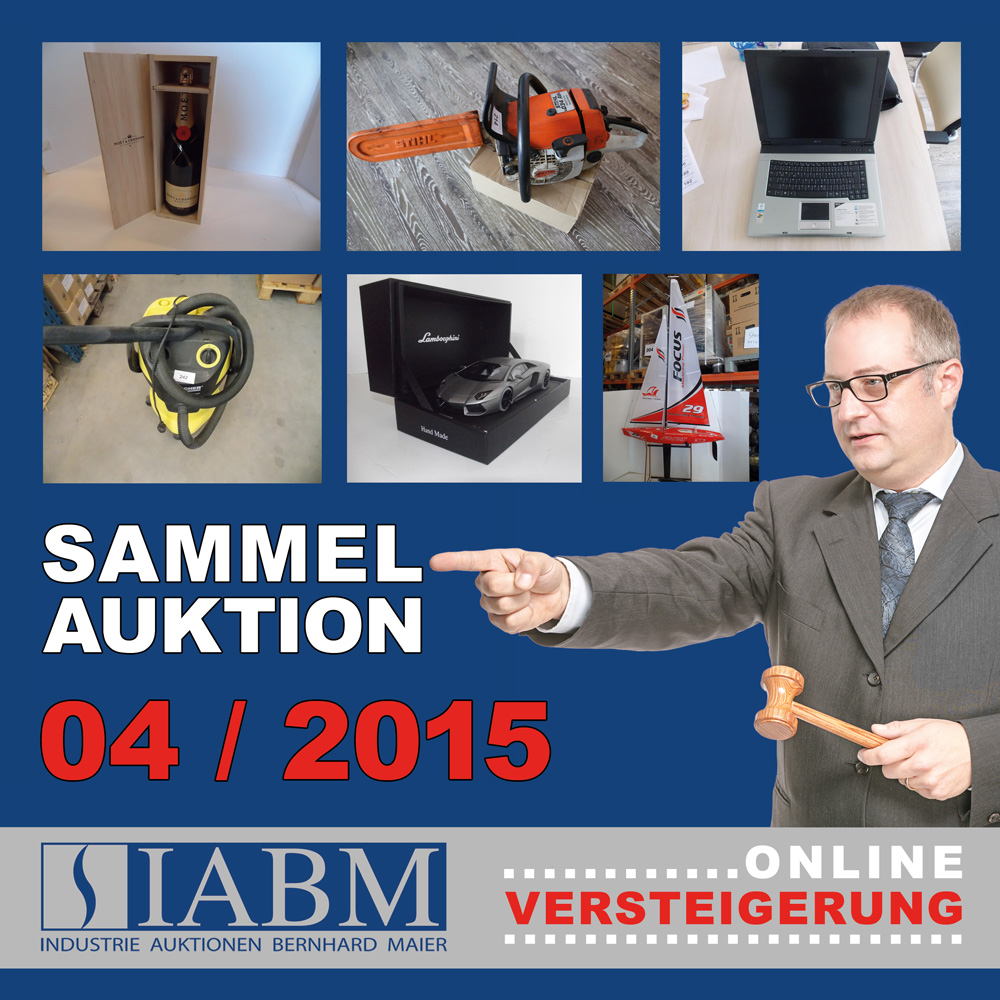 Sammelauktion April 2015