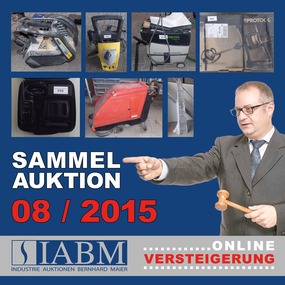 Sammelauktion August 2015